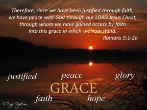 Romans 5:1-2a