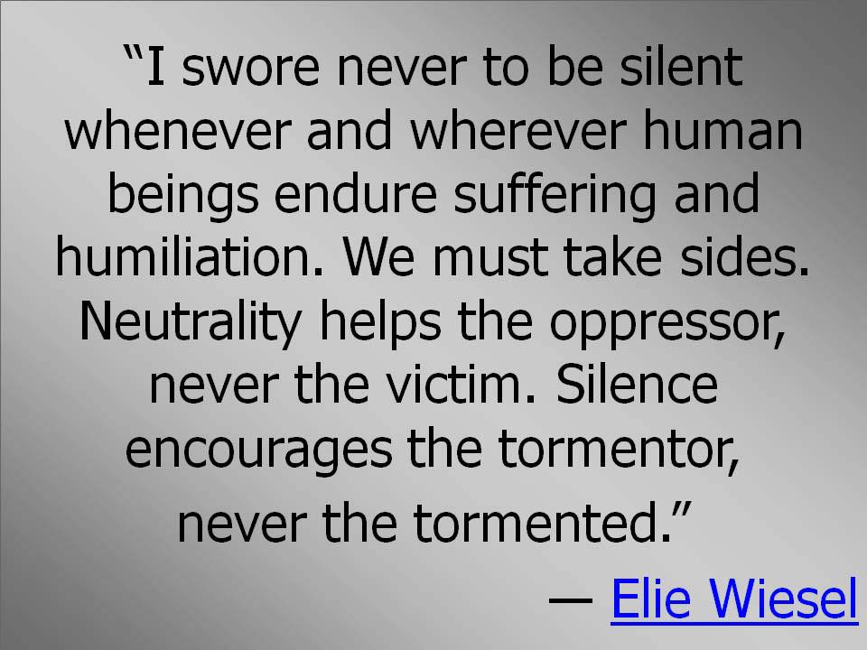 evil in night by elie wiesel In his first and most famous work, night, elie wiesel relives his experience in the concentration camps of the nazi regime during world war ii wiesel, who was born and raised a devout jew and exce.