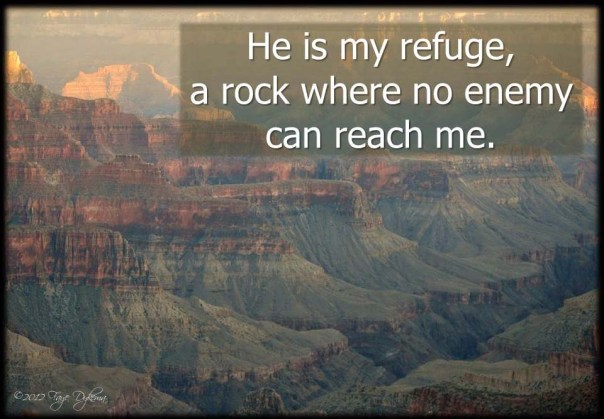 He is my Refuge copy