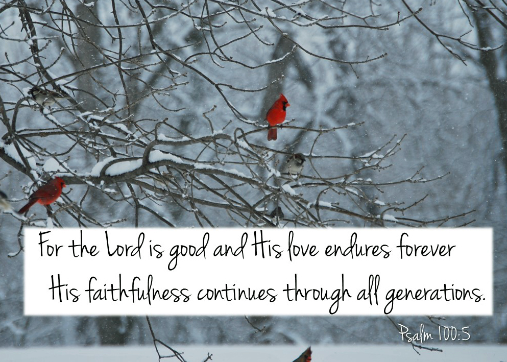 Psalm 100_5 ps