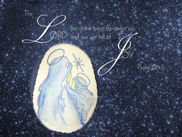 Psalm 126v3