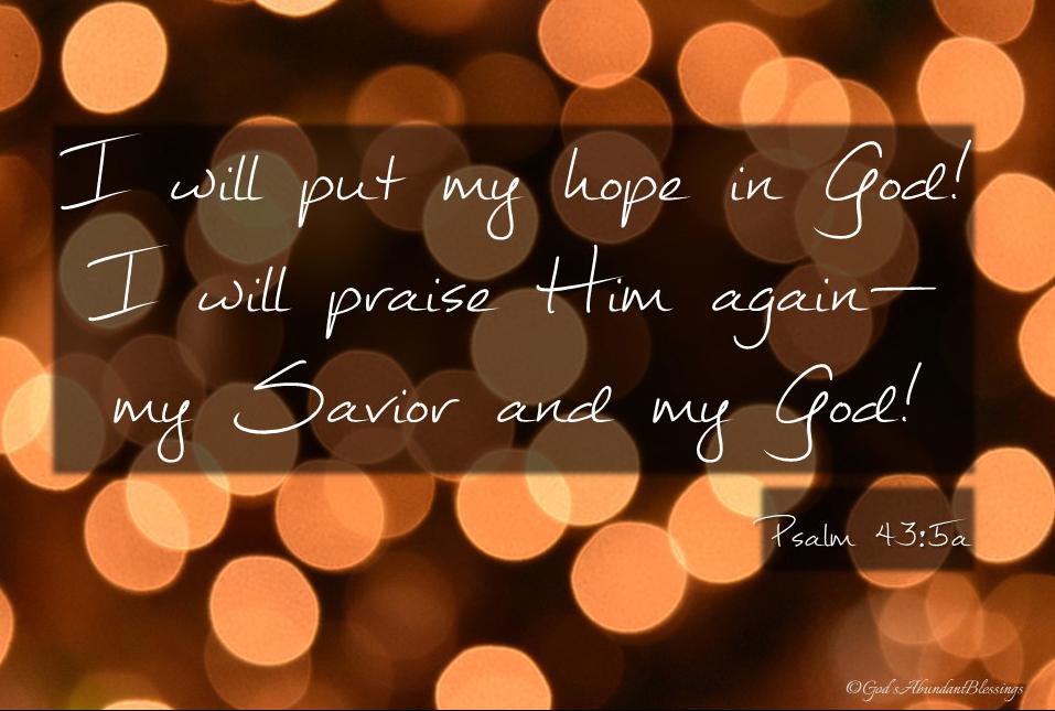 Psalm 43v5