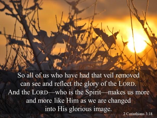 2 Corinthians 3v18