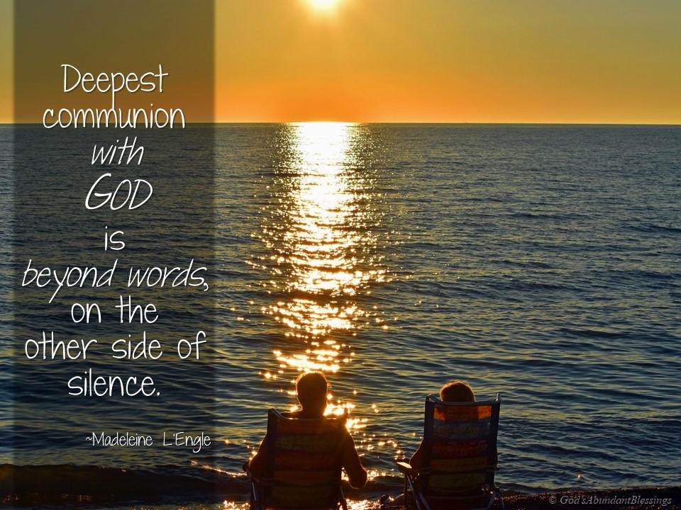 Communion with God LEngle